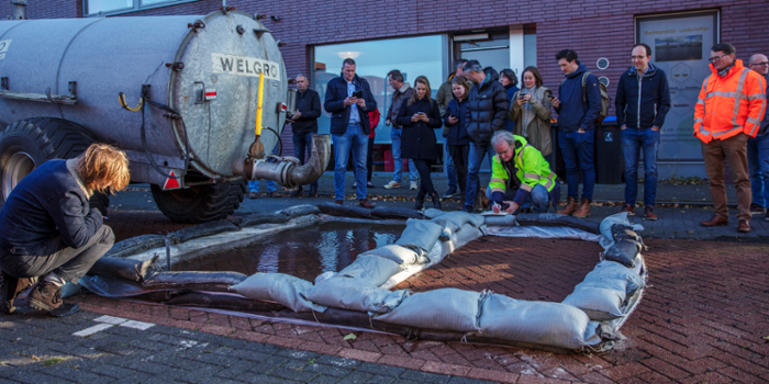 Wateroverlast in de stad
