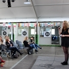 Studenten presenteren voor HvA Going International op FabCity Campus